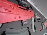 Plastazote rifle case foam Insert
