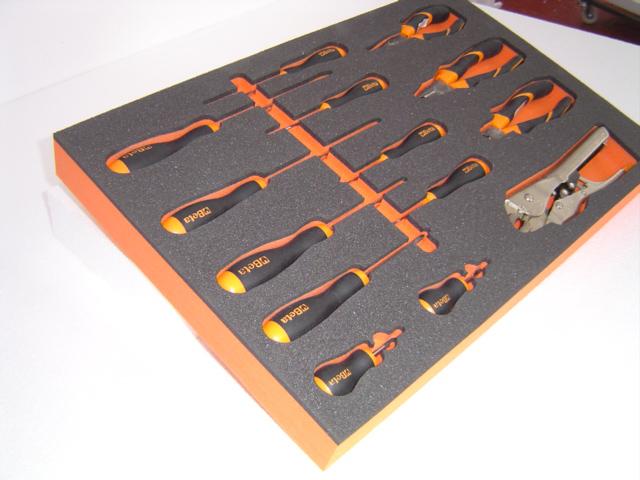 Foam Tool Tray made from Plastazote Foam