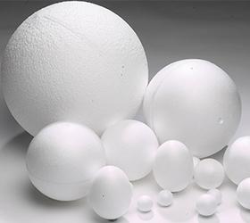 polystyrene-balls