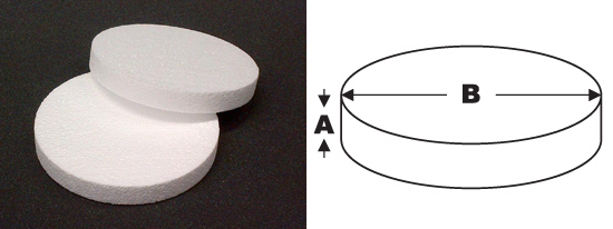 polystyrene-disc