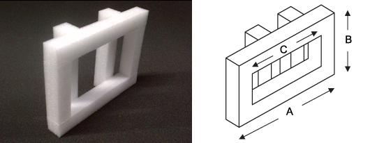 polystyrene-end-cap