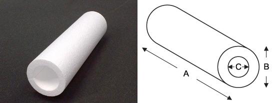polystyrene-tube