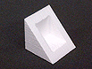 polystyrene triangular corner