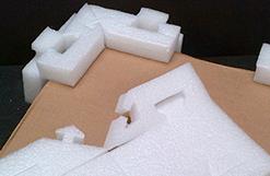 Foam edge protector