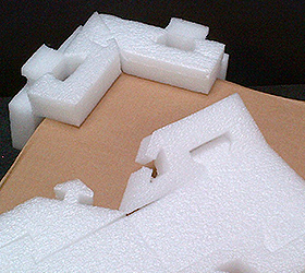 Foam Corner Edge Protection Polystyrene Co Ukpolystyrene