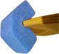 Blue foam edge protector