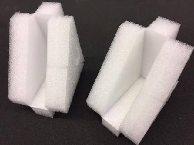 Triangular Foam Corners