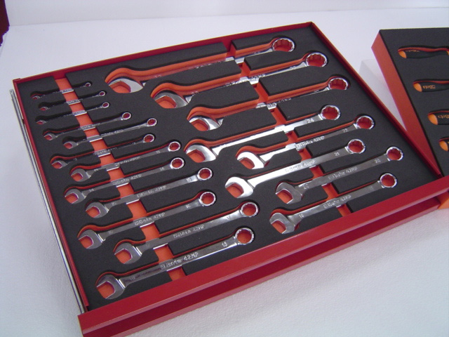 Snap on Foam Tool Tray